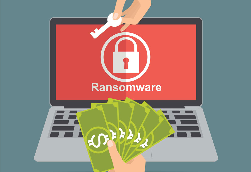 illustration ransomware