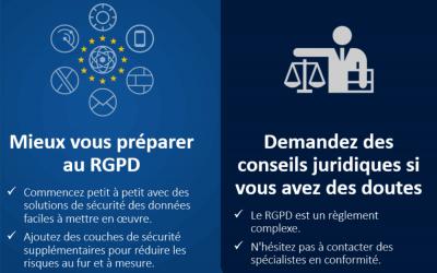1er pas vers la conformité RGPD