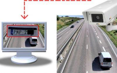Contrôle des plaques d'immatriculation par vidéo-surveillance