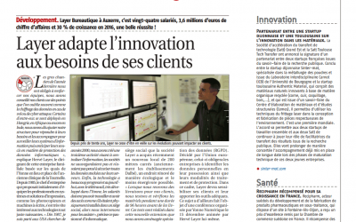 [Presse] Article sur l'innovation chez LAYER – Forum Eco