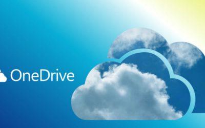 OneDrive pour stocker et partager des fichiers