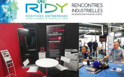 LAYER au salon industriel des RIDY