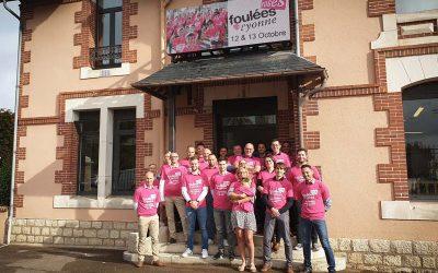 L'équipe LAYER au côté des foulées Roses de l'Yonne