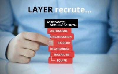 LAYER recrute son assistant(e) administratif(ve)